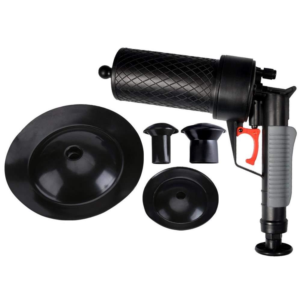 Air Power Drain Blaster clogged draindrain cleaner Air Drain Blaster High Pressure Drain Opener for Clogged Bath Toilet Pipe Bathtub