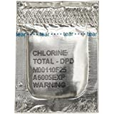 Hach 1406499 DPD Total Chlorine Reagent Powder Pillows, 25 mL, (Pack of 100)