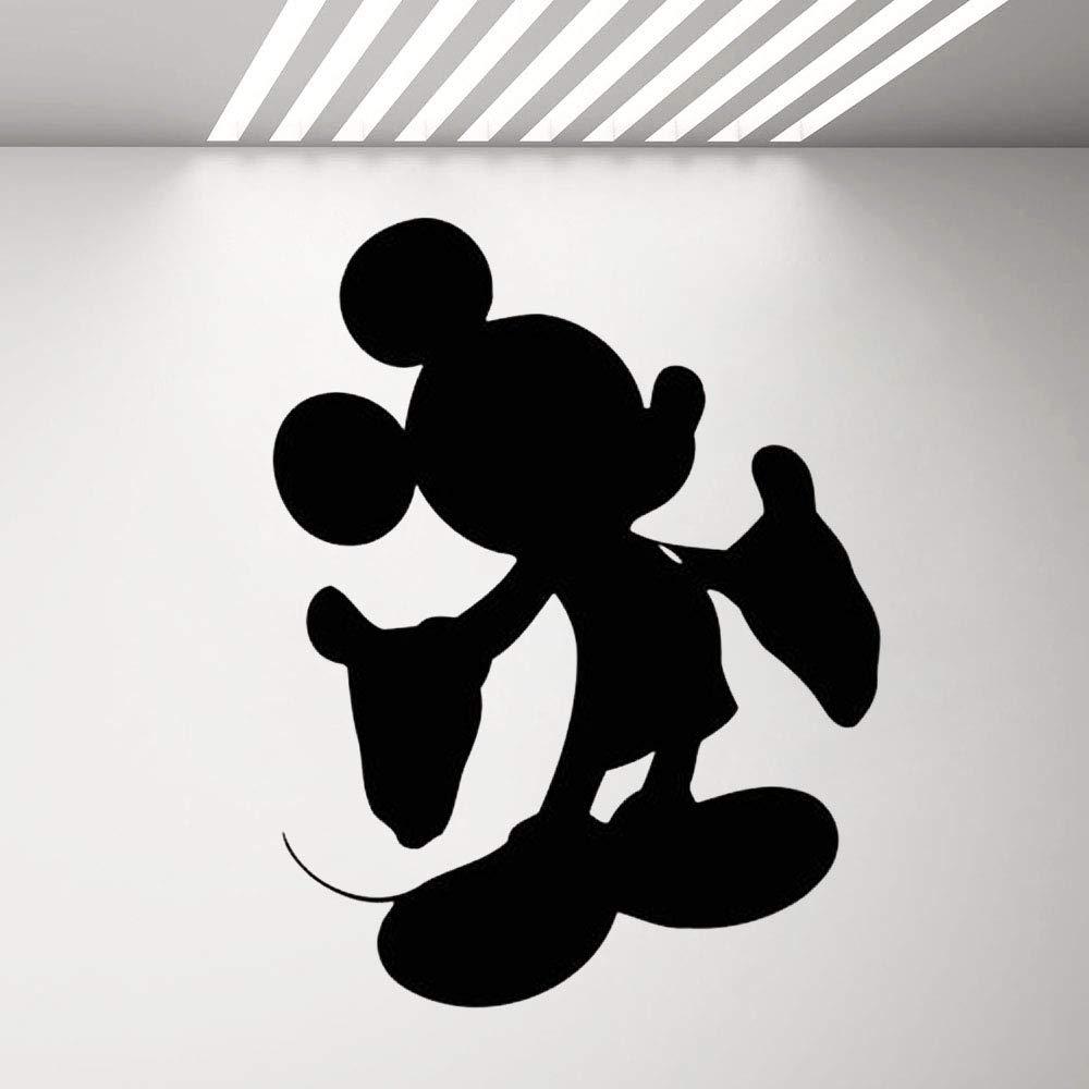 Mickey Mouse Etiqueta de la pared Tatuajes de vinilo Etiqueta de ...