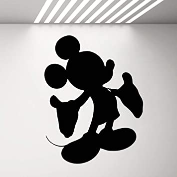 Mickey Minnie Mouse Wall Art Decal Sticker Vinilo Tatuajes de ...