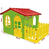 Indoor & Outdoor Summer Garden Happy House Kids Fun Playhouse