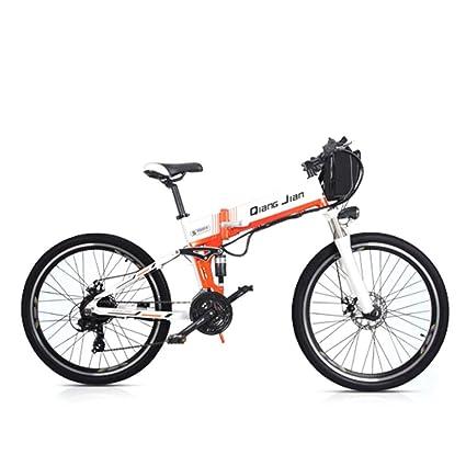 GTYW, Eléctrico, Plegable, Bicicleta, Aleación De Aluminio, 26 Pulgadas / 48V