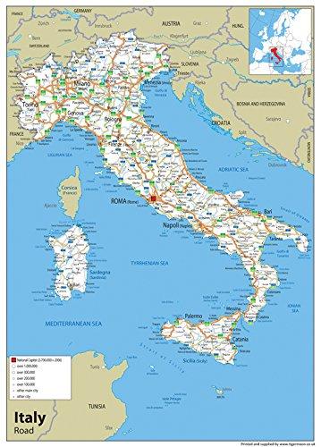 Cartina Italia Stradale Da Stampare.Raggio Acuto Locale Cartina Italiana Con Regioni Amazon Agingtheafricanlion Org