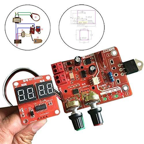 Spot Welder Machine Time Control 40A Digital Display Controller Board (40A)