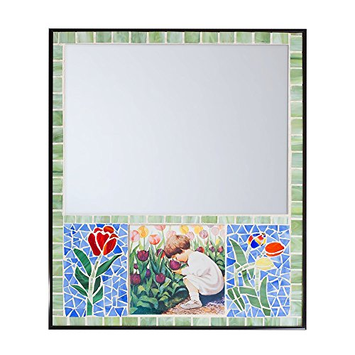 (Tulip Youth Mosaic Mirror)
