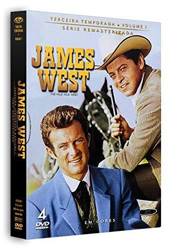 Dvd James West - 3 Temporada Vol.1