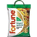 Fortune Biryani Special Basmati Rice, Extra long grain basmati rice, 5 KG