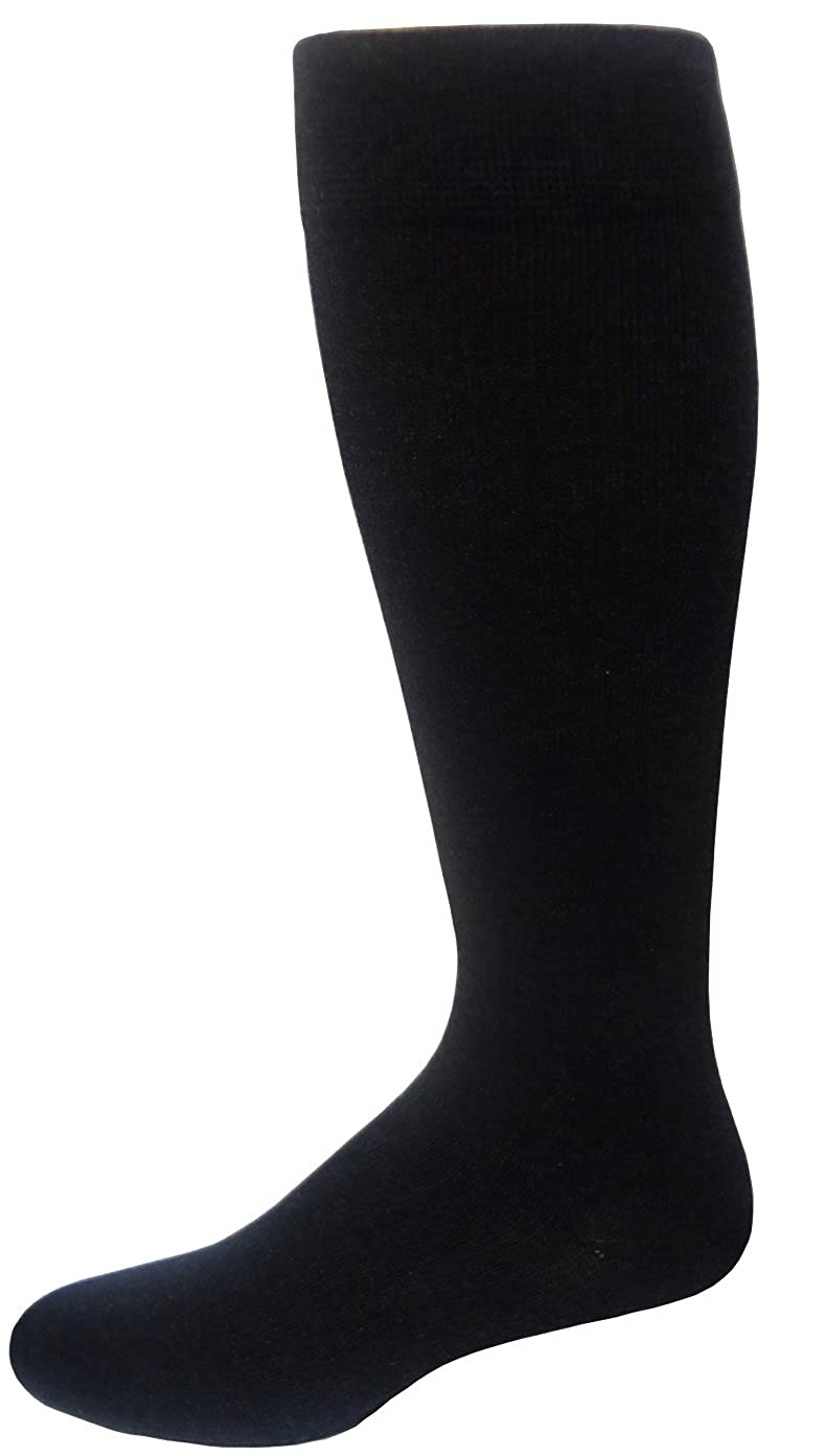 a4a767c8cfd Men s Dr. Motion Compression Graduated Knee Hi Socks 10-13 (Black) at  Amazon Men s Clothing store