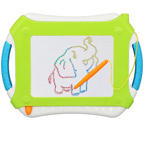 Svance Magnetic Drawing Board, Erasable Magna Doodle Board,Learning Toys for Toddlers and - Magna Wall