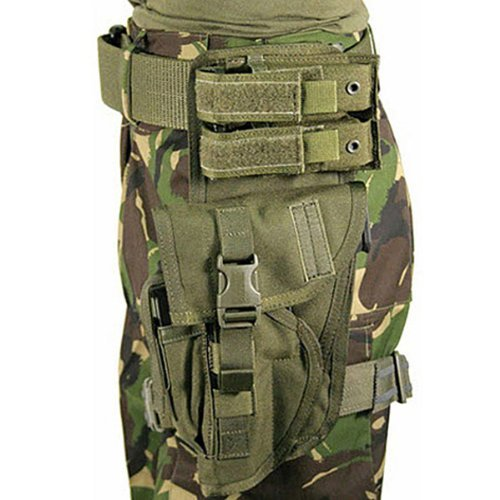 BLACKHAWK! Special Operations Holster, Olive Drab, Left Hand (Most Large Frame Weapons) (Blackhawk Special Operations Holster)