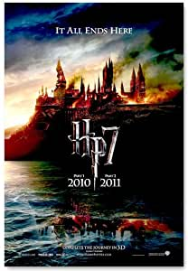 Harry Potter - HP7 - Deathly Hallows - Hogwarts 11x17 Poster MasterPoster Print, 11x17