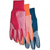 Midwest Quality Gloves 522F6 Ladies Jers/Canv Gloves - Quantity 12