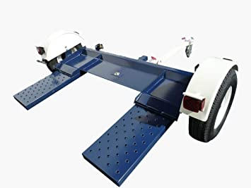 Carrito Para Remolcar Autos Muy Resistente Remolque Automotive