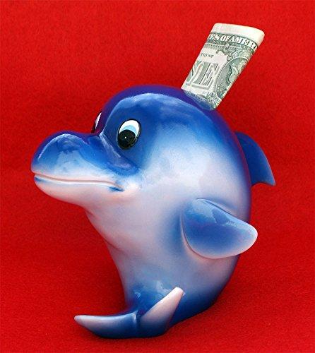 Blue Dolphin Piggy Bank by Kingmax