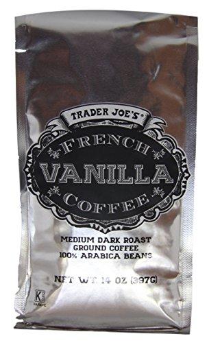 Trader Joe's French Vanilla Coffee (Pack of 2) (Coffee Trader Joe's Christmas)