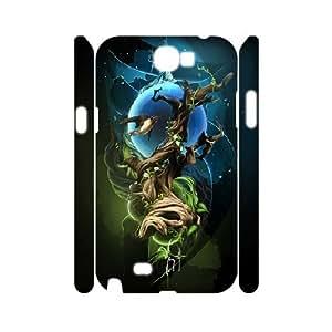 3D Samsung Galaxy Note 2 Case, Cool Space Bird Case for Samsung Galaxy Note 2 {White}