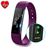 Fitness Tracker with Heart Rate monitor V2 Activity Watch Step Walking...