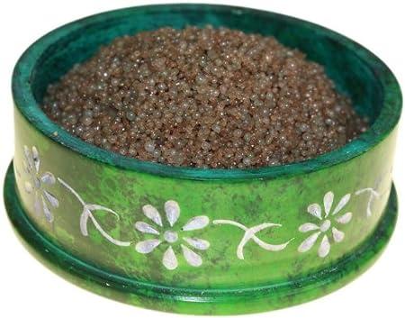 Cannabis para especias cristales para quemador de aromas 200G Bolsa (marrón)