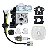HOODELL RB-K93 Carb, Compatible for Echo SRM225 GT225 PE225 PAS225 Trimmer and More, Premium Weed Eater/Edger Carburetor, with Tune Up Kit Primer Bulb