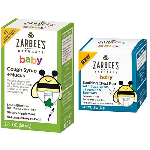 Baby Cough Syrup Mucus And Baby Soothing Chest Rub