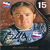 Buddy Rice Autographed/Signed 2007 Indy Car Card from Hollywood Collectibles