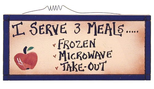 Ohio Wholesale I Serve 3 Meals Wall Art, from our Kitchen Collection