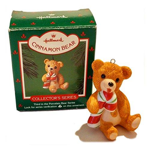 Hallmark Ornament Cinnamon Bear Third In Series