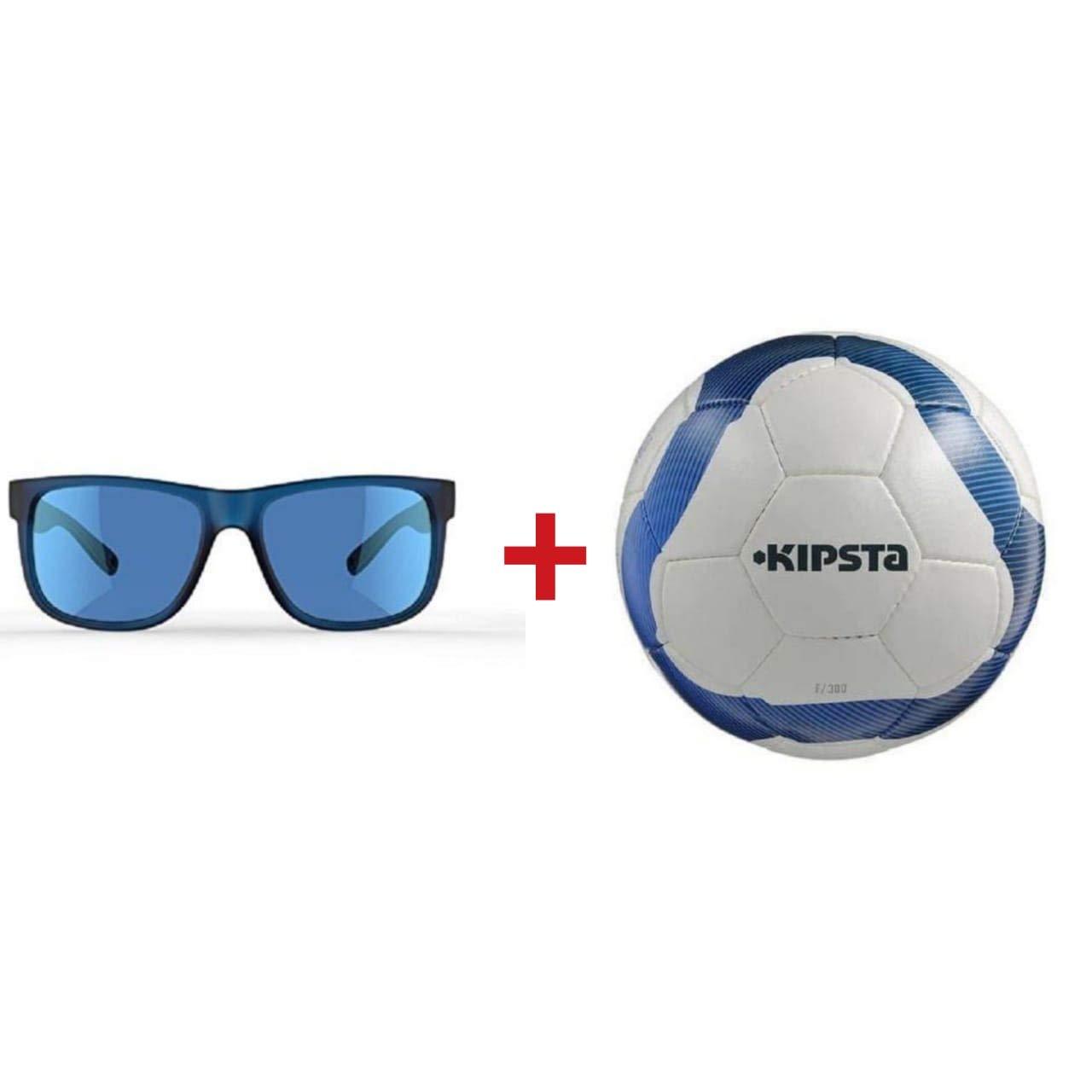 KIPSTA フットボールサイズ5クィクアMH 540大人用サングラスゴーグル 2個パック B07JPGLQ1X