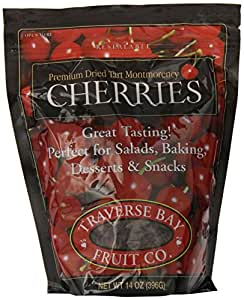 Traverse Bay Fruit Co. Dried Cherries, 14-Ounce Pouch