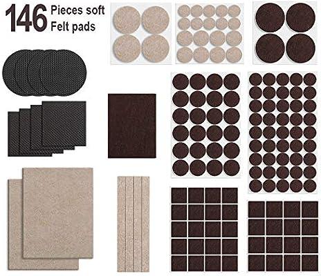 Felt Furniture Pads -Anti Cratch 9 Felt Pads for Hardwood