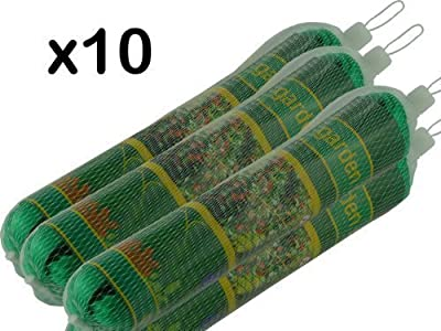 10 x NEW GARDEN NETTING - EACH 2m x 10m - FINE STRONG MESH - CAN BE CUT TO REQUIRED SIZE - PROTECT SEEDLINGS / VEGETABLES / SOFT FRUITS / PLANTS / PONDS - BRAND NEW by We Search You Save