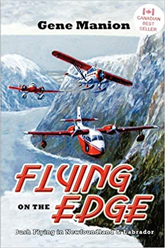 Front cover for the book Flying on the Edge by Gene Manion