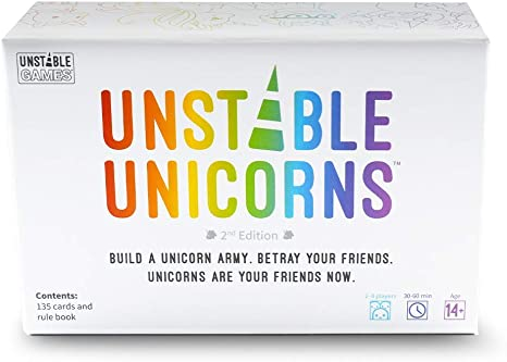 Unstable Unicorns Base Game, Card Games - Amazon Canada