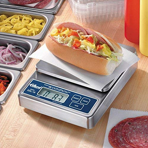 Edlund HD S/S Digital Scale with Rechargeable Battery Pack