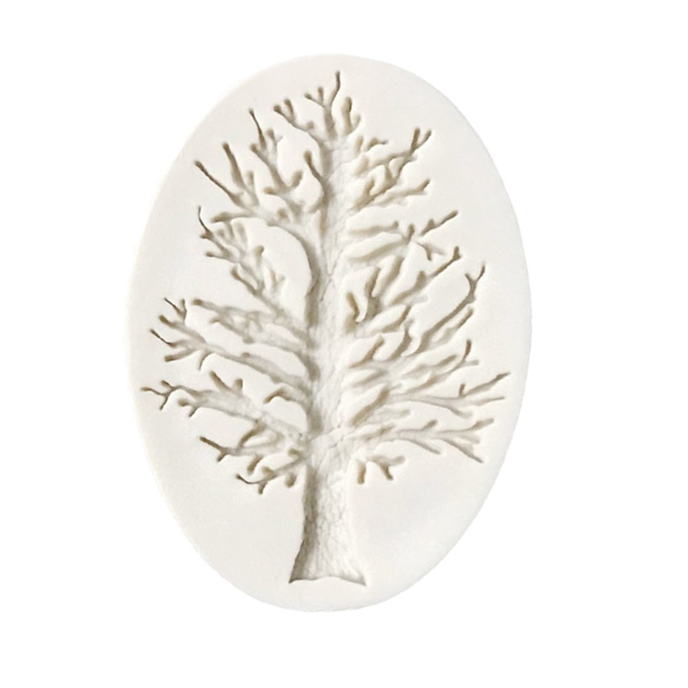 Tree Branch Silicone Cake Fondant Mold Cake Decorating Mould Baking Tool By Delaman CM-0021