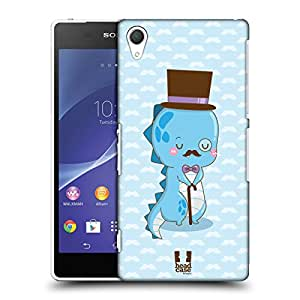 Head Case Designs Blue Professaur Protective Snap-on Hard Back Case Cover for Sony Xperia Z2 D6502 D6503