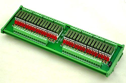 ELECTRONICS-SALON Slim DIN Rail Mount DC12V Source/PNP 32 SPST-NO 5A Power Relay Module, PA1a-12V by CZH-LABS (Image #7)