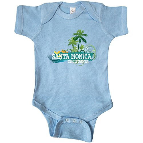 inktastic - Santa Monica California CA Infant Creeper Newborn Baby Blue 29b0a