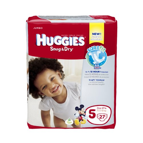 Huggies Snug Diapers Size Jumbo