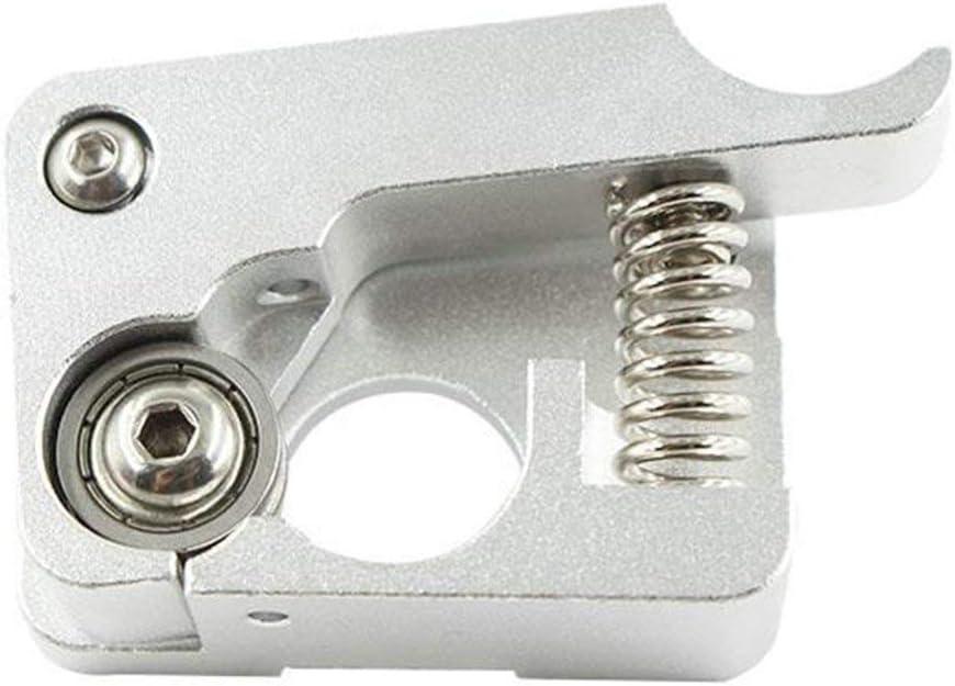 MK10 Remote Direct Extruder 3D Printer Parts Aluminum Bowden Extruders 1.75mm Silver Left