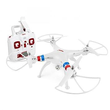 SATKIT Blanco - Quadcopter Drone SYMA X8W FPV Explorers 2. 4GHz ...