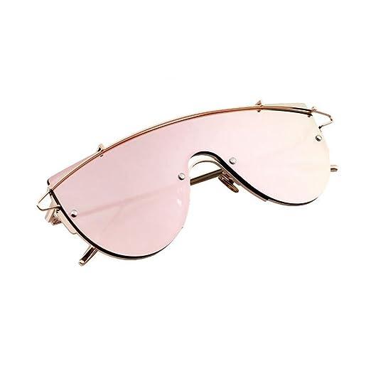 HONEY Lovers Sonnenbrille  - Reflektierend - Brillen Für Männer Und Frauen ( Farbe : Gold/dark grey ) UEtei