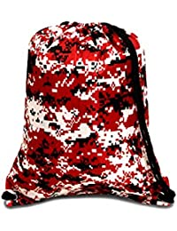 Boston Drawstring Backpack_Red_One