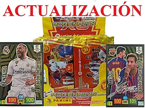 actualizacion 1 Caja 50 Sobres ADRENALYN 2018 2019: Amazon.es ...