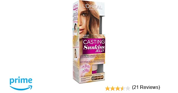 LOreal Paris Casting Crème Gloss Jelly 01 para Cabello Castaño: Amazon.es: Belleza