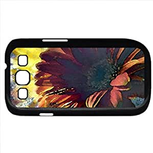 Fantasy (Flowers Series) Watercolor style - Case Cover For Samsung Galaxy S3 i9300 (Black)