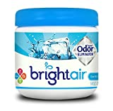 Bright Air 900090 Solid Air Freshener and Odor Eliminator, Cool and Clean Scent, Blue, 14 Ounces