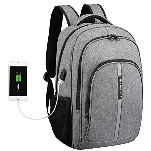 Travel Laptop Backpack, Fintie Large Heavy Duty Work Daypack for Boys Men Women