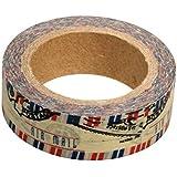 Ray - Masking tape en papier washi courrier par avion
