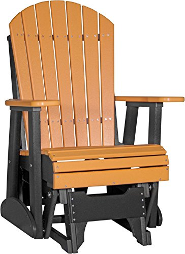 Outdoor Adirondack Glider Chair with Arms